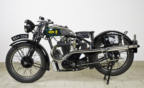 bsa blue star 500cc from 1932 prev next back to collection gold star s