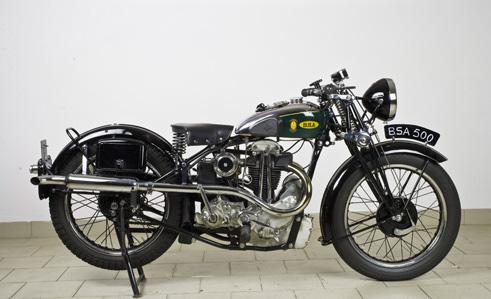 BSA Blue Star 500cc del 1932